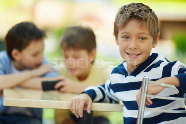 Glad boy Stock photo © pressmaster