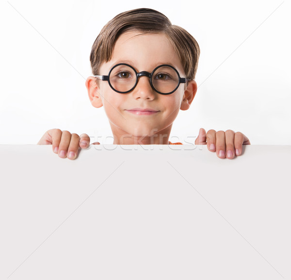 Stock photo: Smart guy