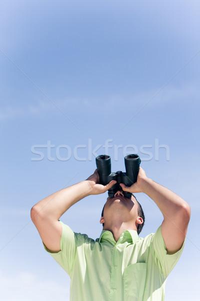 Stock photo: Looking upwards