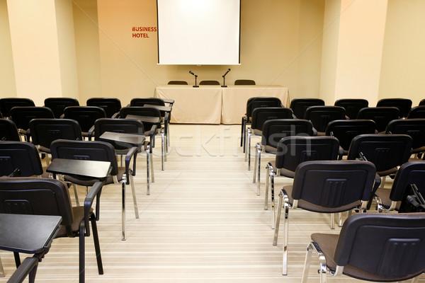 Photo stock: Conférence · salle · image · plusieurs · réunion