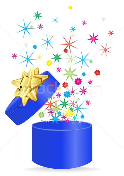 blue-gift Stock photo © pressmaster
