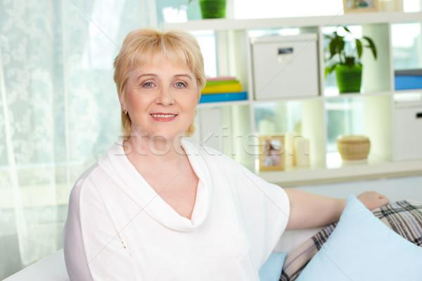 Happy housewife Stock photo © pressmaster