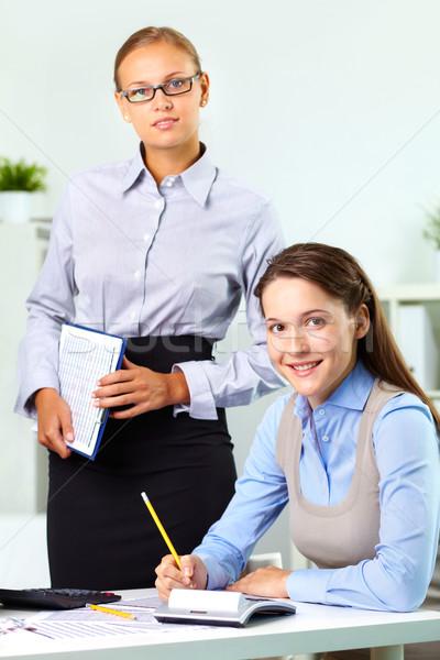 Boss and employee Stock photo © pressmaster