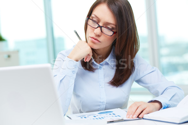 Lady at work Stock photo © pressmaster