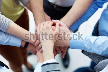 Działalności Unii ręce górę inny Zdjęcia stock © pressmaster