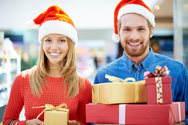 Christmas shopping Stock photo © pressmaster