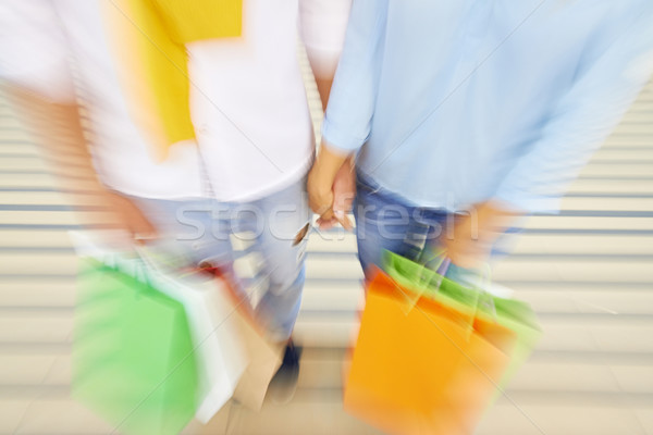 Shopping backdrop Stock photo © pressmaster