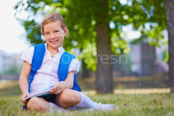Elementary school learner Stock photo © pressmaster
