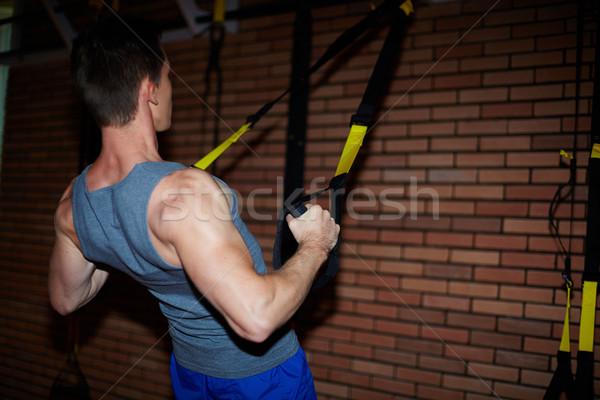 Training for arms Stock photo © pressmaster