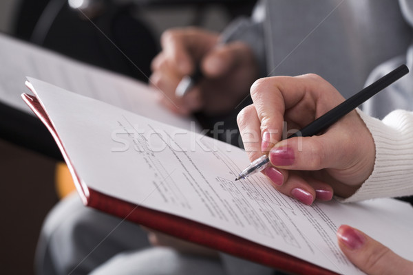Resume Stock photo © pressmaster