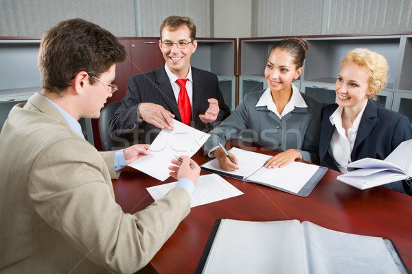 Group of business people Stock photo © pressmaster