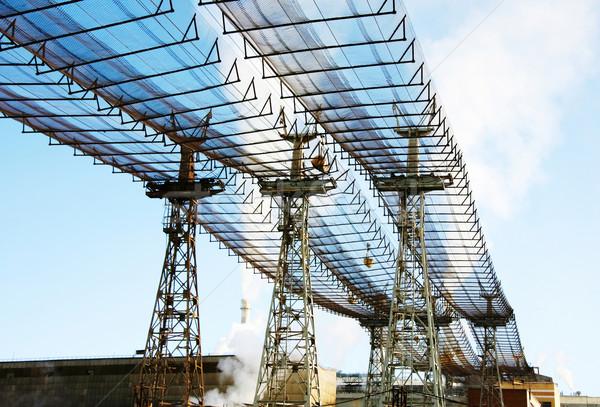 Tanımlama mavi kablo enerji güç Stok fotoğraf © pressmaster