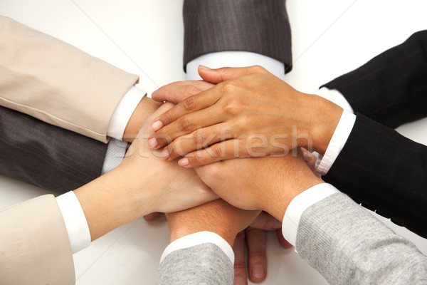 Symbol of partnership Stock photo © pressmaster