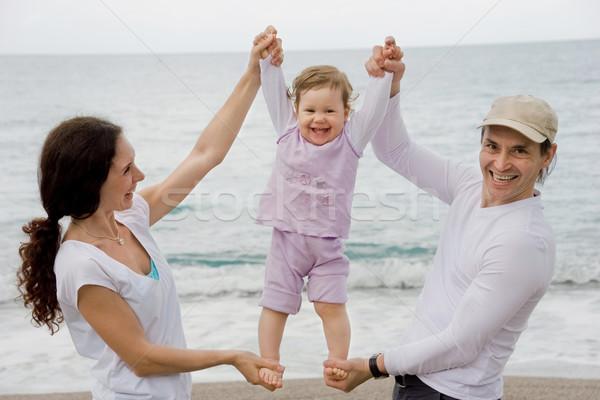 Parents and child Stock photo © pressmaster