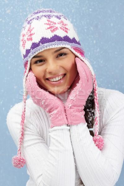 Winter beauty Stock photo © pressmaster