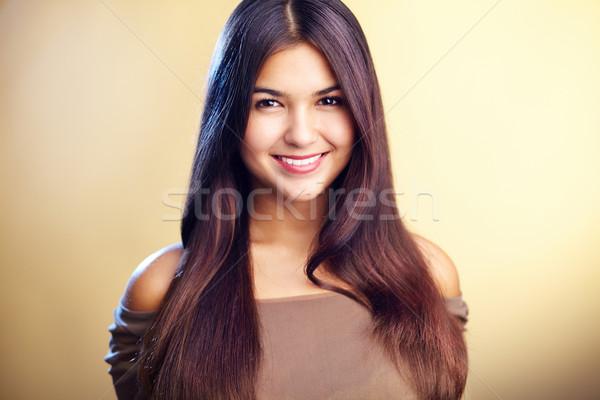 Luksusowy kobieta obraz doskonały patrząc kamery Zdjęcia stock © pressmaster