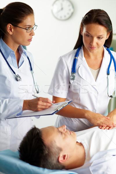 Сток-фото: лечение · пациент · портрет · женщины · врачи · медицинской