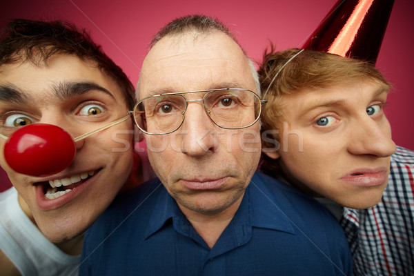 Three april fools Stock photo © pressmaster