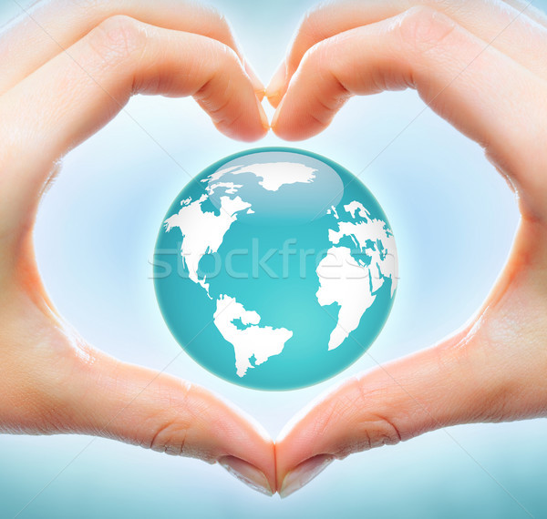 Love to earth Stock photo © pressmaster
