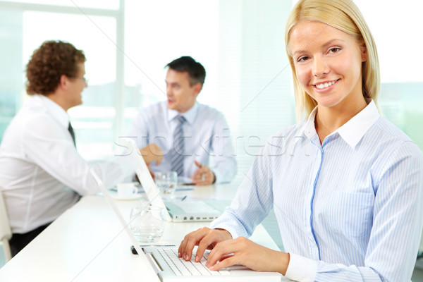 Young and promising Stock photo © pressmaster