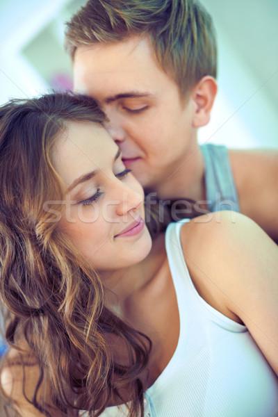 Fiatal fiatalok kapcsolat idő együtt nő Stock fotó © pressmaster