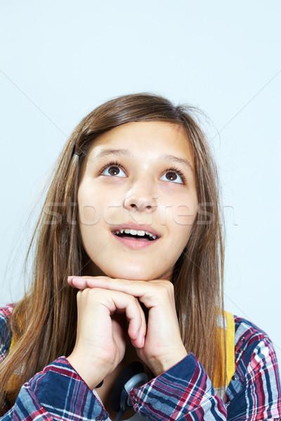 Teenage dreamer Stock photo © pressmaster
