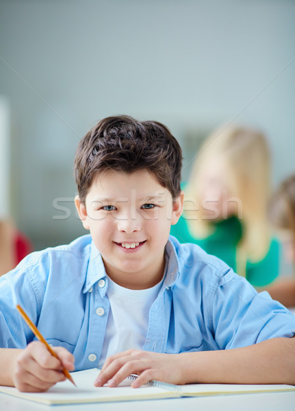 Stock photo: Clever boy