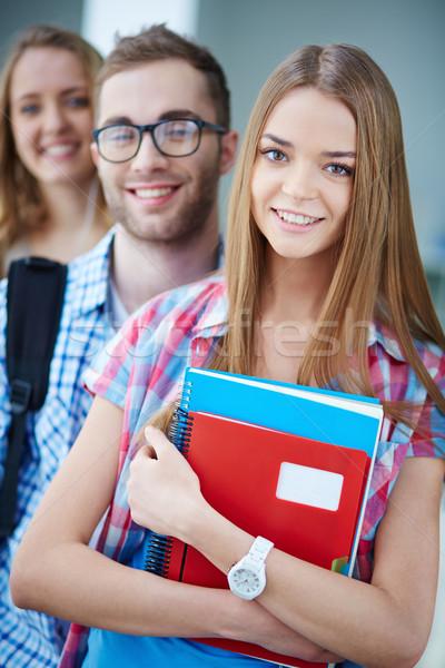 Smart students Stock photo © pressmaster
