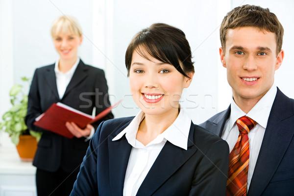Pessoas de negócios foto olhando câmera negócio cara Foto stock © pressmaster