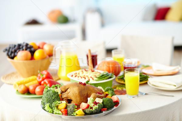 Thanksgiving dinner Stock photo © pressmaster