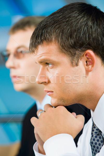 бизнесмен портрет серьезный создают бизнеса Сток-фото © pressmaster