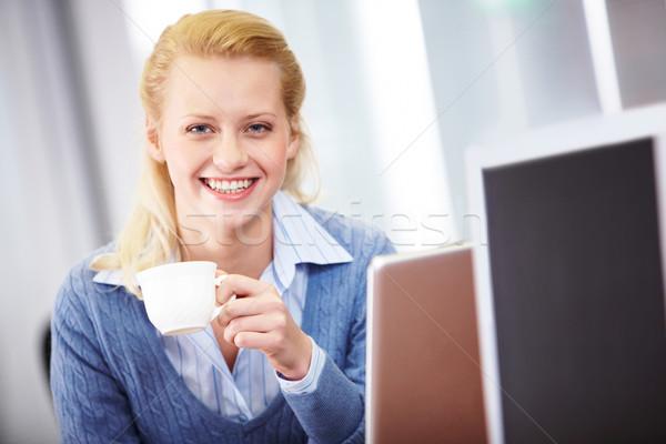 Successful lady Stock photo © pressmaster