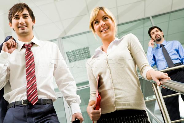 Stok fotoğraf: Akıllı · ortaklar · fotoğraf · başarılı · İş · ortaklarımız · ofis · binası
