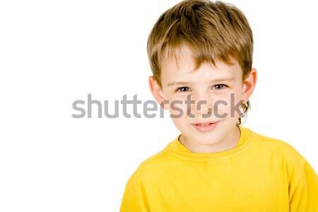 Cute boy Stock photo © pressmaster