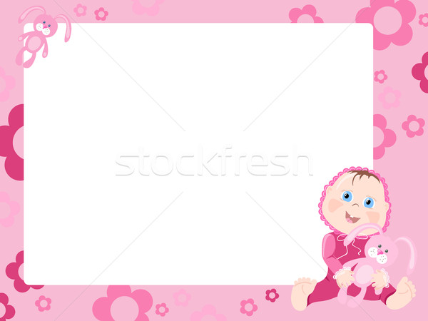 Pink frame   Stock photo © pressmaster