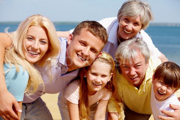 Family on vacation Stock photo © pressmaster