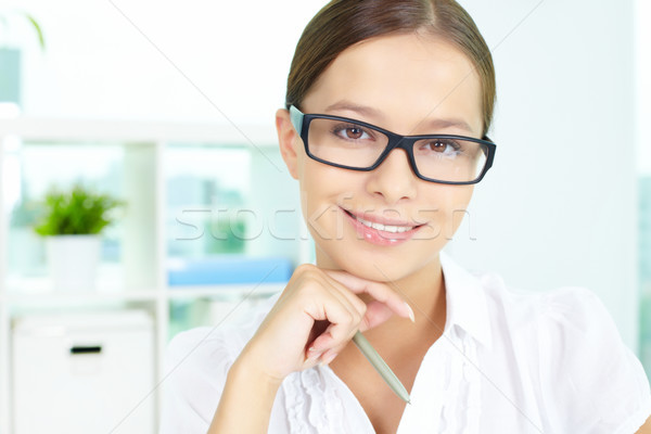 Negócio senhora retrato bem sucedido empresária olhando Foto stock © pressmaster
