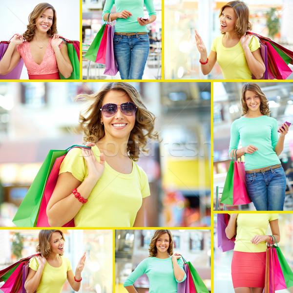 Lovely shopper Stock photo © pressmaster