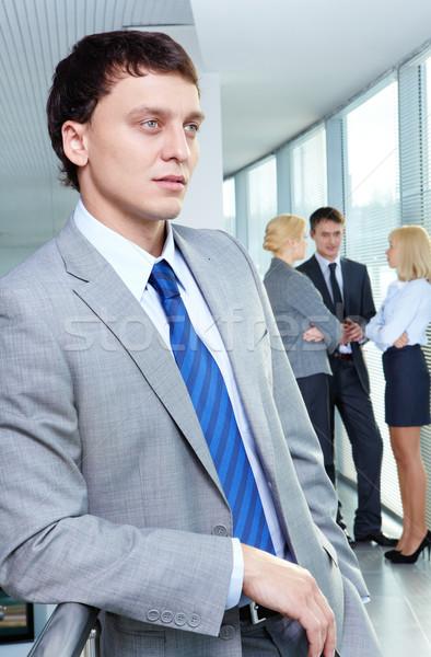 Giovani leader ritratto imprenditore lavoro squadra Foto d'archivio © pressmaster