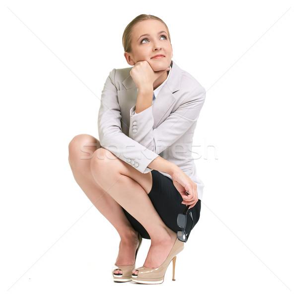 Pensive lady Stock photo © pressmaster