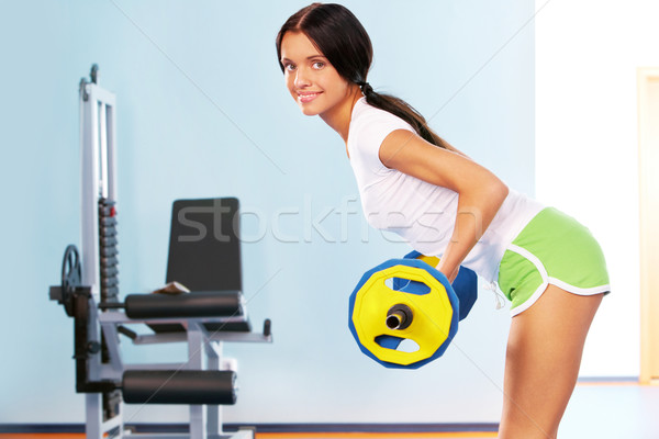 Building muscle Stock photo © pressmaster
