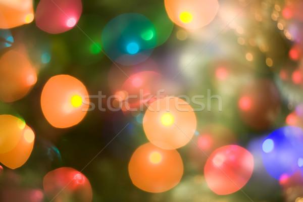 Christmas lights Stock photo © pressmaster