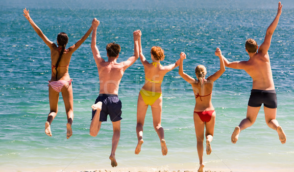 énergique personnes photo adolescents Photo stock © pressmaster