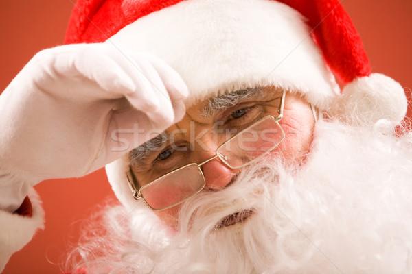 усталость фото устал Дед Мороз белый стороны Сток-фото © pressmaster