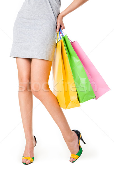 Legs of shopper Stock photo © pressmaster