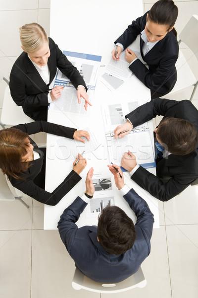 Stock photo: Planning