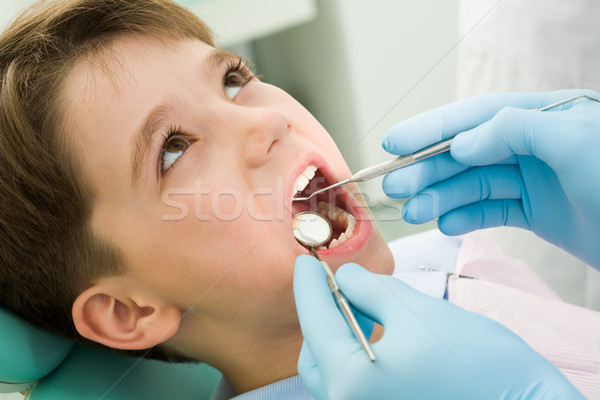 Healing teeth Stock photo © pressmaster