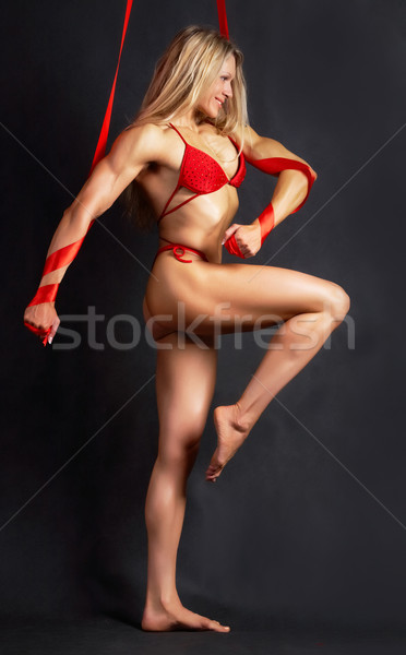 Strong woman marching Stock photo © pressmaster