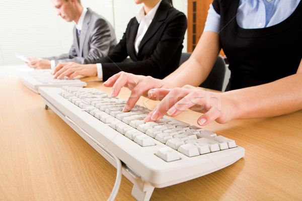 Working secretaries Stock photo © pressmaster