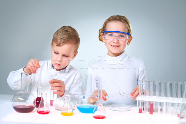 New generation of scientists Stock photo © pressmaster